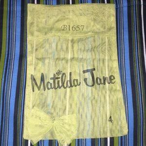 Unique Hard to Find Matilda Jane Mesh Bag W/Bow